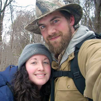 Andy and Amanda Powell - Owners of Sunset Canoe Outfitting